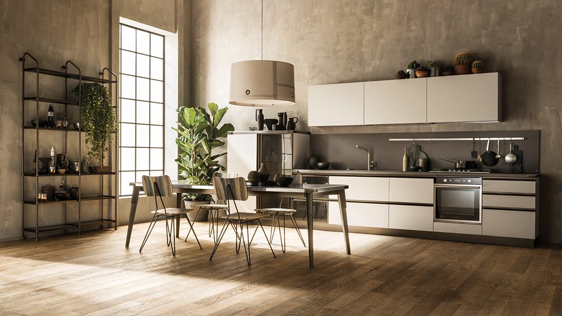 Cucina Diesel Open Workshop Scavolini