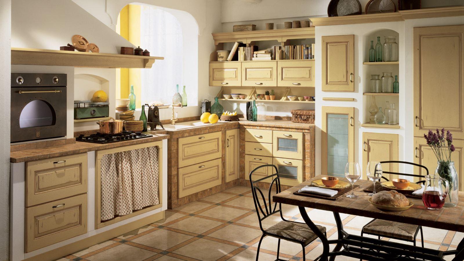 Scopri le cucine in muratura Scavolini