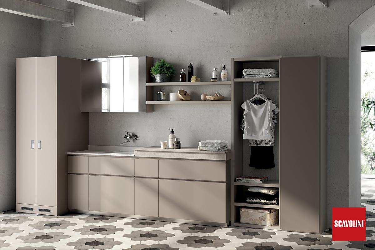 Scavolini Mobili Bagno Prezzi.Arredo Bagno Laundry Space Scavolini