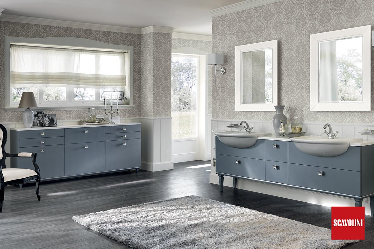 Arredo Bagno Blu Scavolini : Arredo bagno magnifica scavolini