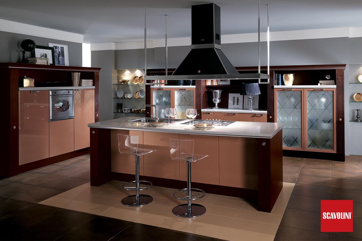 Cucina Moderna Con Isola Scavolini.Cucina Baccarat Scavolini